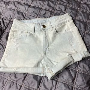 American Eagle size 2 light wash jean shorts